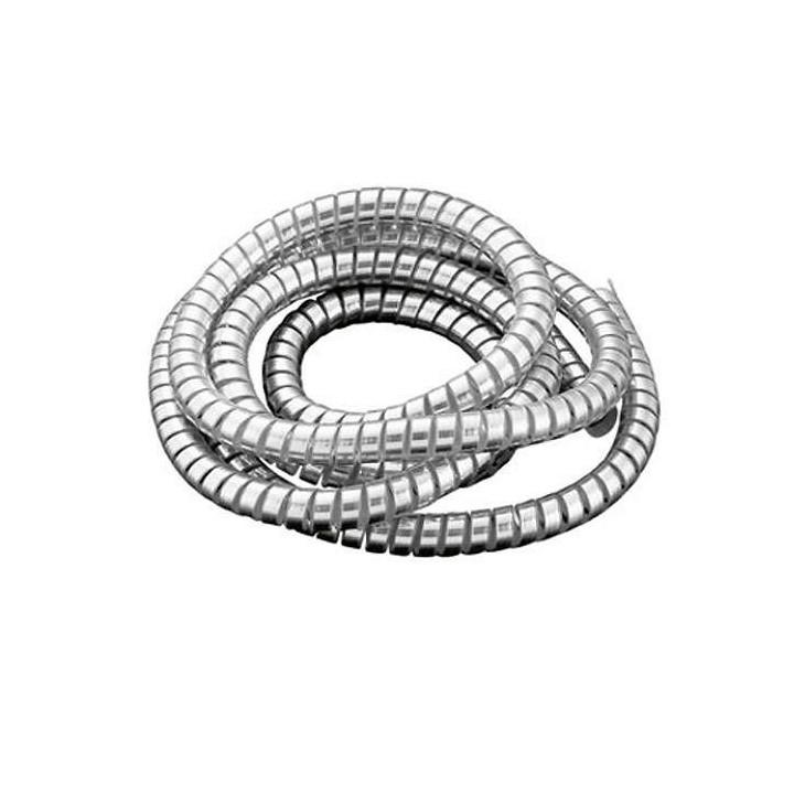 Gaine de câble spirale chromée Highway Hawk 1,5M x 10,2mm
