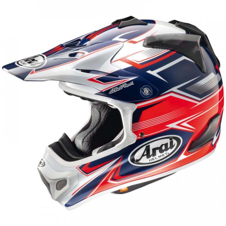 Casque moto Cross Arai MX-V SLY RED