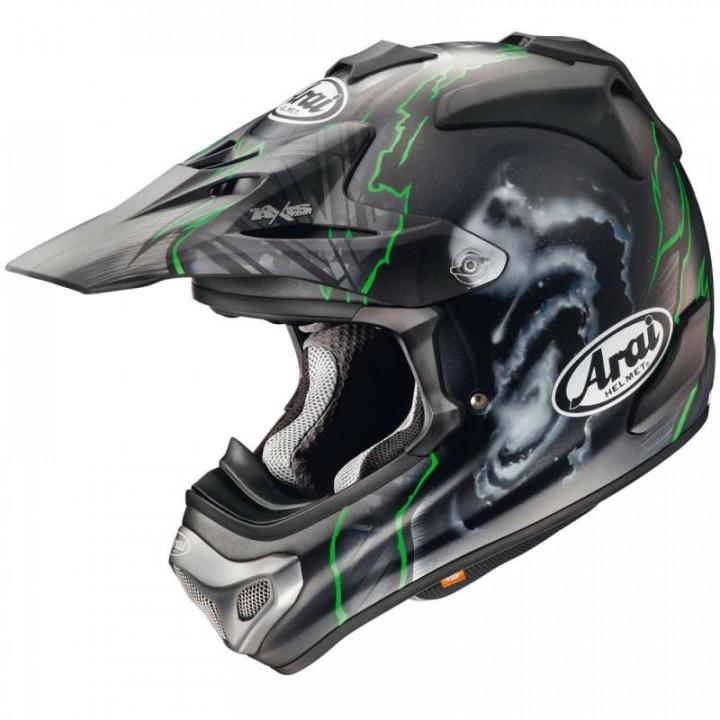 Casque moto Cross Arai MX-V BARCIA GREEN